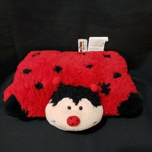 Pillow Pets Pee Wees Lady Bug Plush 11""